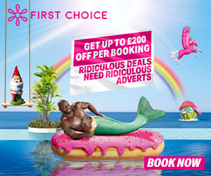 First Choice Sale - up to £200 off
