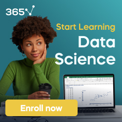 Person climbing a staircase. Learn Data Science from Scratch: online program with 21 courses