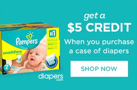 Save money on brand name diapers!