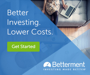 invest 10000 dollars into Betterment