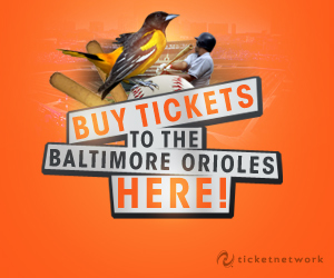 Buy tickets to see the Baltimore Orioles!