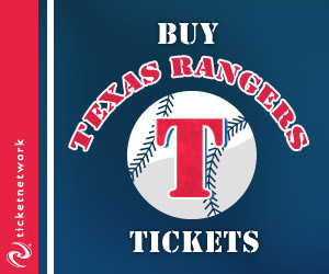 Buy Texas Rangers Tickets!