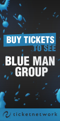 Buy Tickets to see the Blue Man Group!