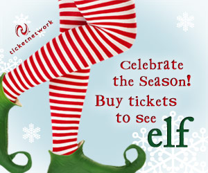 Buy Tickets to see Elf!