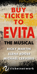 Buy Tickets to see Evita!