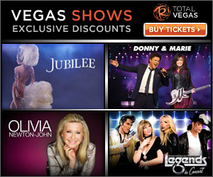 Tickets for Vegas Shows