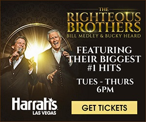 Save $20 on The Righteous Brothers Tickets