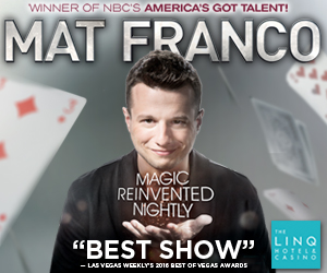 Save $20 on Mat Franco Magic Reinvented Nightly Tickets