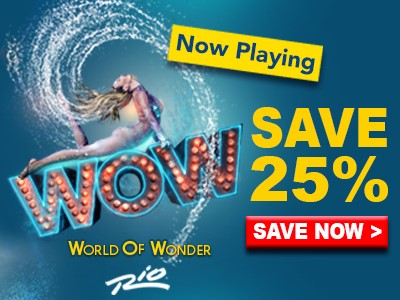 Save up to 25% on WOW-World of Wonder Tickets