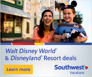 Southwest Vacations Disney