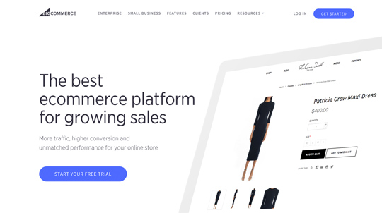 sell online with bigcommerce - make money online