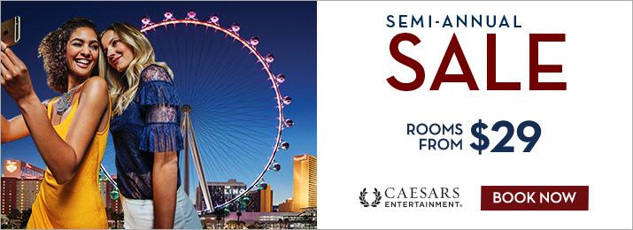 Caesars Semi Annual Sale