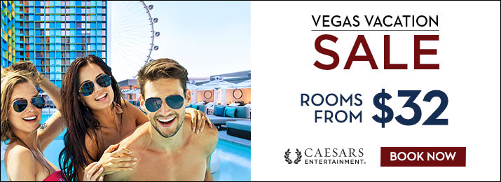 SAVE on Caesars Entertainment Hotel Rooms