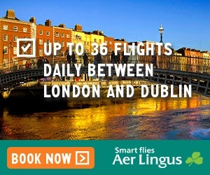 Aer Lingus offers: Cheap flights to Ireland & North America
