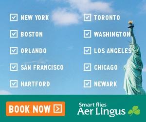Aer Lingus flights to Dublin