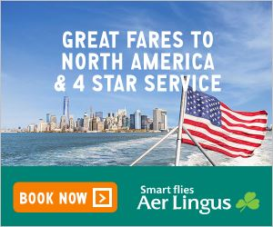 Aer Lingus: Low fares on flights to North America