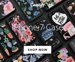 Casetify -  Jet Black iPhone 7 and 7 Plus