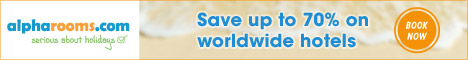 AlphaRooms - Save up to 70% on worldwide hotels