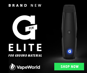 Buy the NEW G Pen Elite at VapeWorld.com