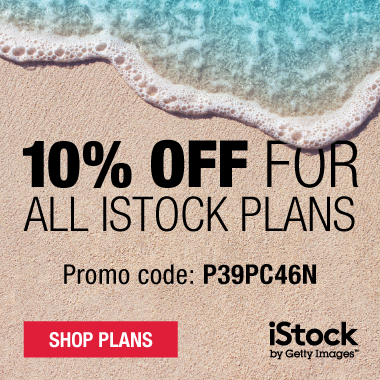 10% Off for All iStock Plans