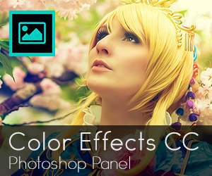 Color Effects CC: Adobe Photoshop panel with more than 120 premium color effects and endless possibilities. The perfect tool for your images.