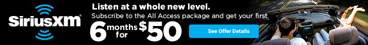 Get 6 months of SiriusXM All Access for only $50