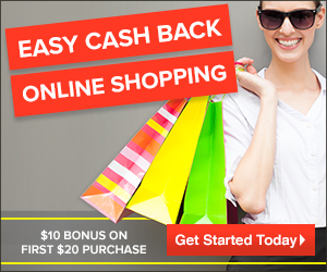 Shop, earn and get rewarded! Get $10 sign on bonus when you spend $20+
