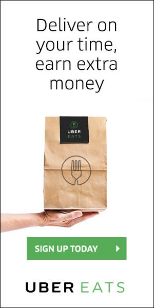 Deliver on your time earn extra money, uber eats