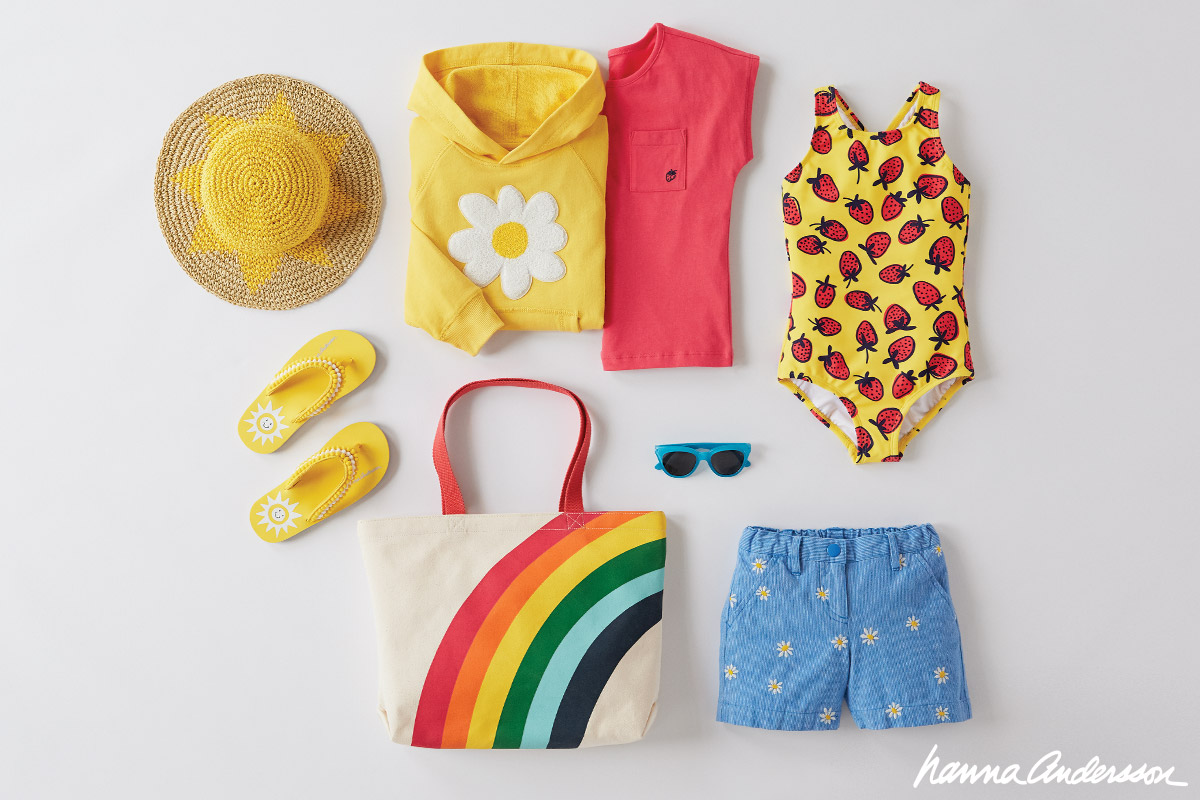 Shop Girls spring break essentials at Hanna Andersson!