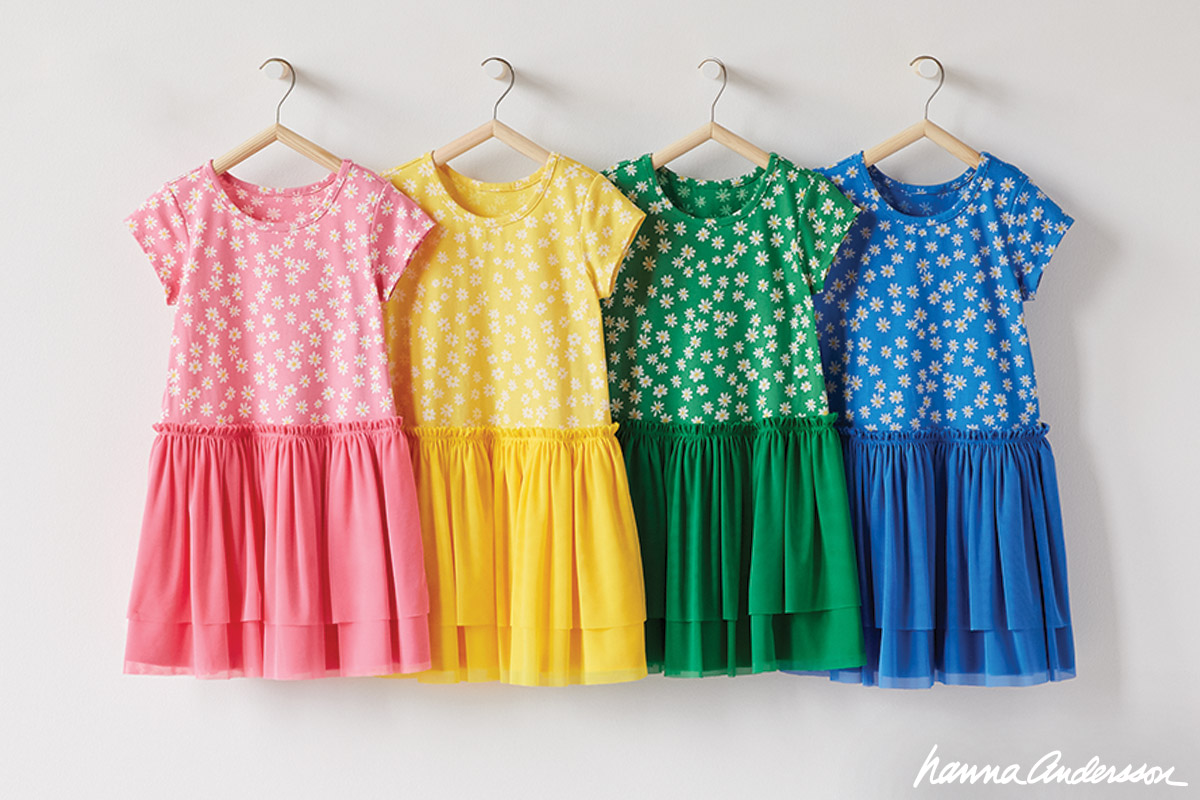 Shop girls dresses at Hanna Andersson!