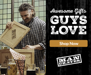 Man Crates - Awesome Gifts For Guys