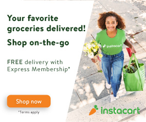 How Instacart works: link to free trial of Instacart Express