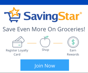 Frugal  Grocery Budget - Saving Star Rebates