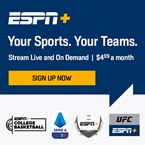 Sign up for ESPN+ and Stream Live Sports and Exclusive Originals!