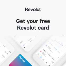 Revolut - a phone based bank giving free currency exchange