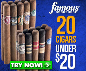 Buy this exclusive sampler at Famous Smoke Shop!