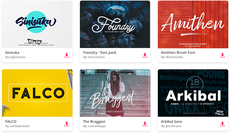 15 Top Font Combinations for 2019