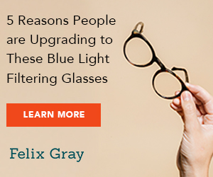 Felix Gray Blue Light Filtering Computer Glasses