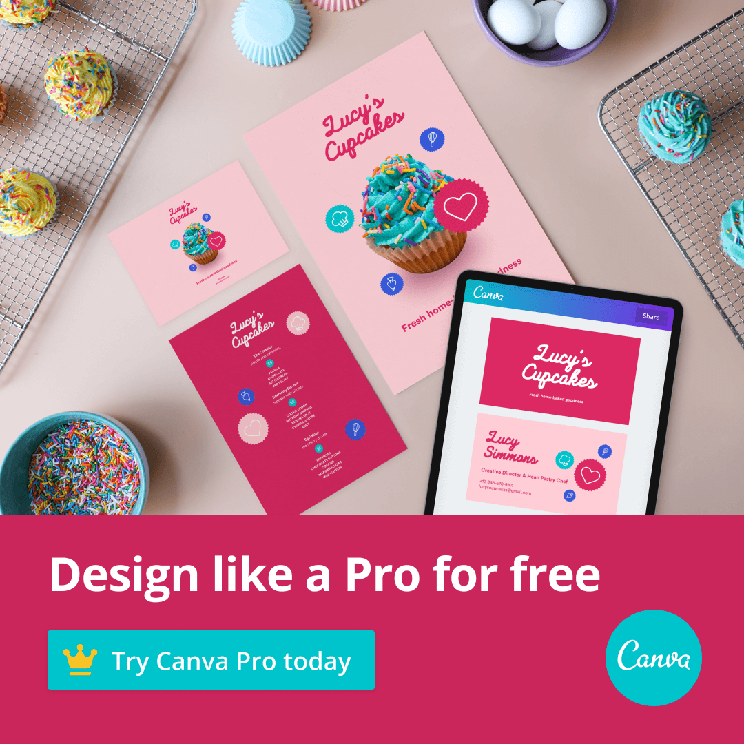Design like a Pro, Download Canva Pro for FREE