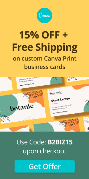 Canva Business Cards