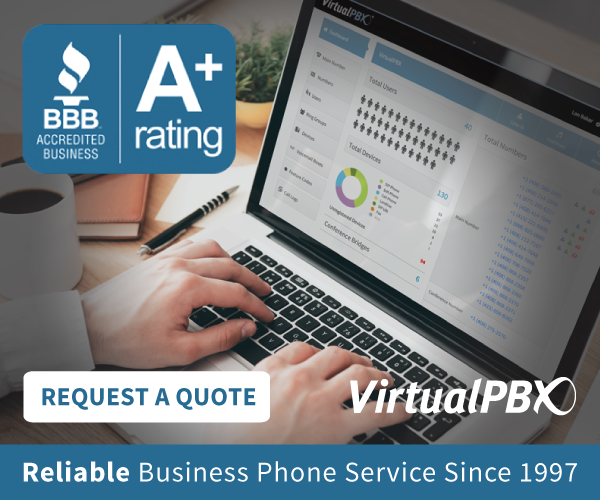 The best business VoIP starts with an A Plus Better Business Bureau rating. VirtualPbx