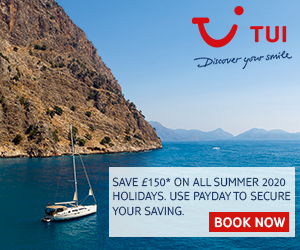 Use TUI Code Summer to get up to £150 off