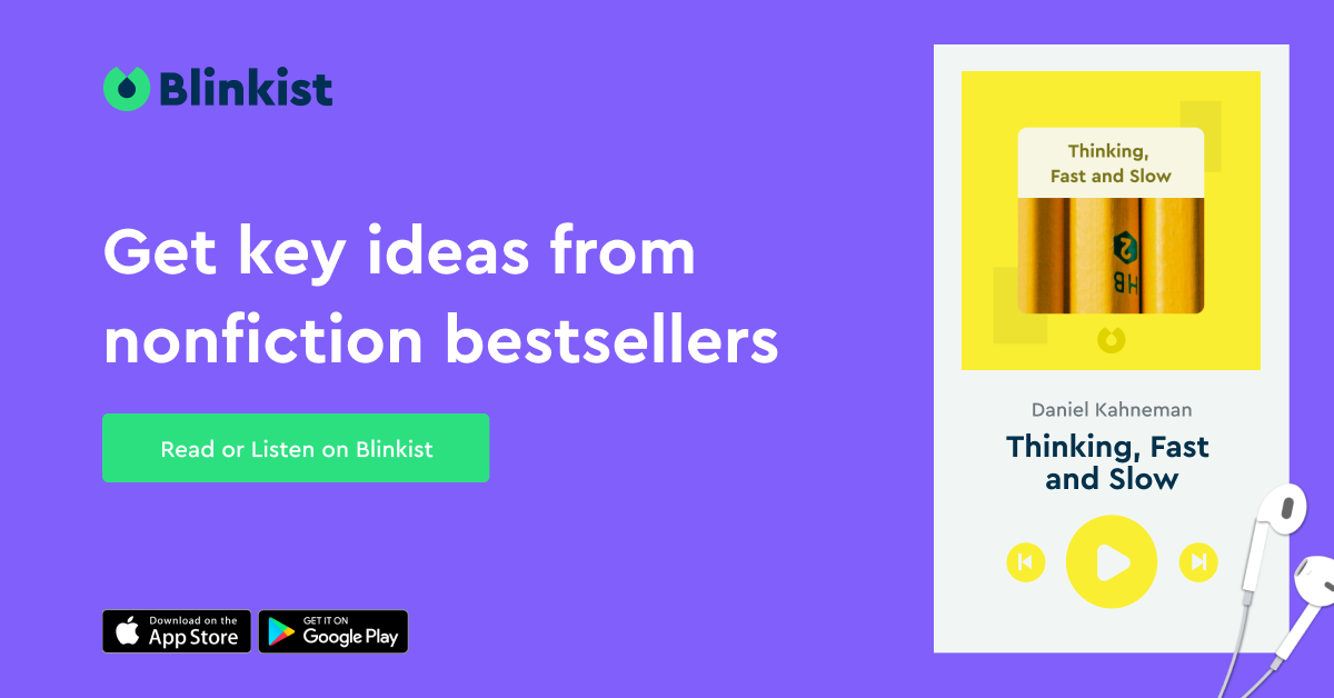 summaries of books from Blinkist