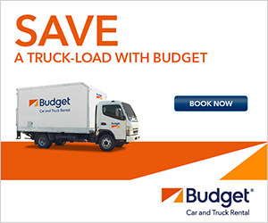 Budget - Save Truckload - 300x250