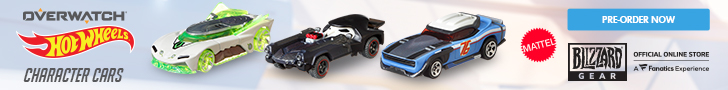 Shop Overwatch Hotwheels Cars