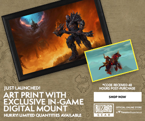 Check out Exclusives at Blizzard Gear Fest!