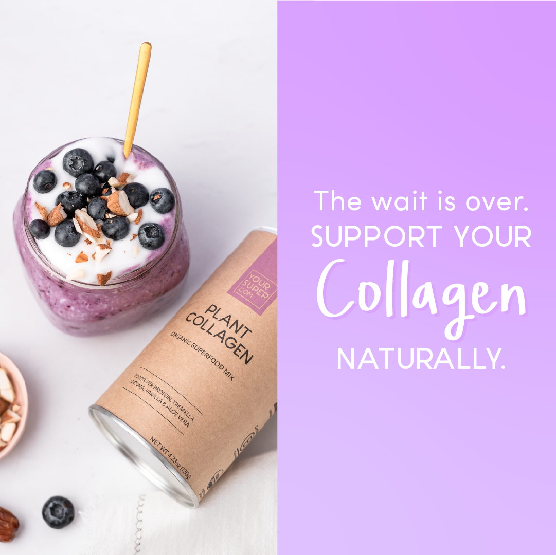 BEST PLANT BASED COLLAGEN POWDER - ad for Plant Collagen
