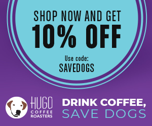 Hugo Coffee Roasters Coupon: SAVEDOGS