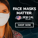 Face Masks by Sew Cal