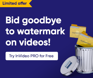 Try InVideo Pro for Free